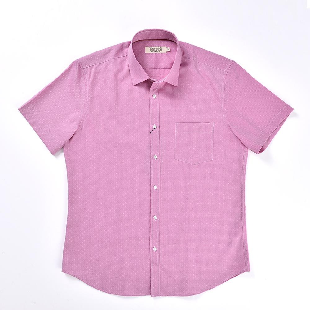 Premium Cotton Slim Fit Short Sleeve Shirt 1530364 18