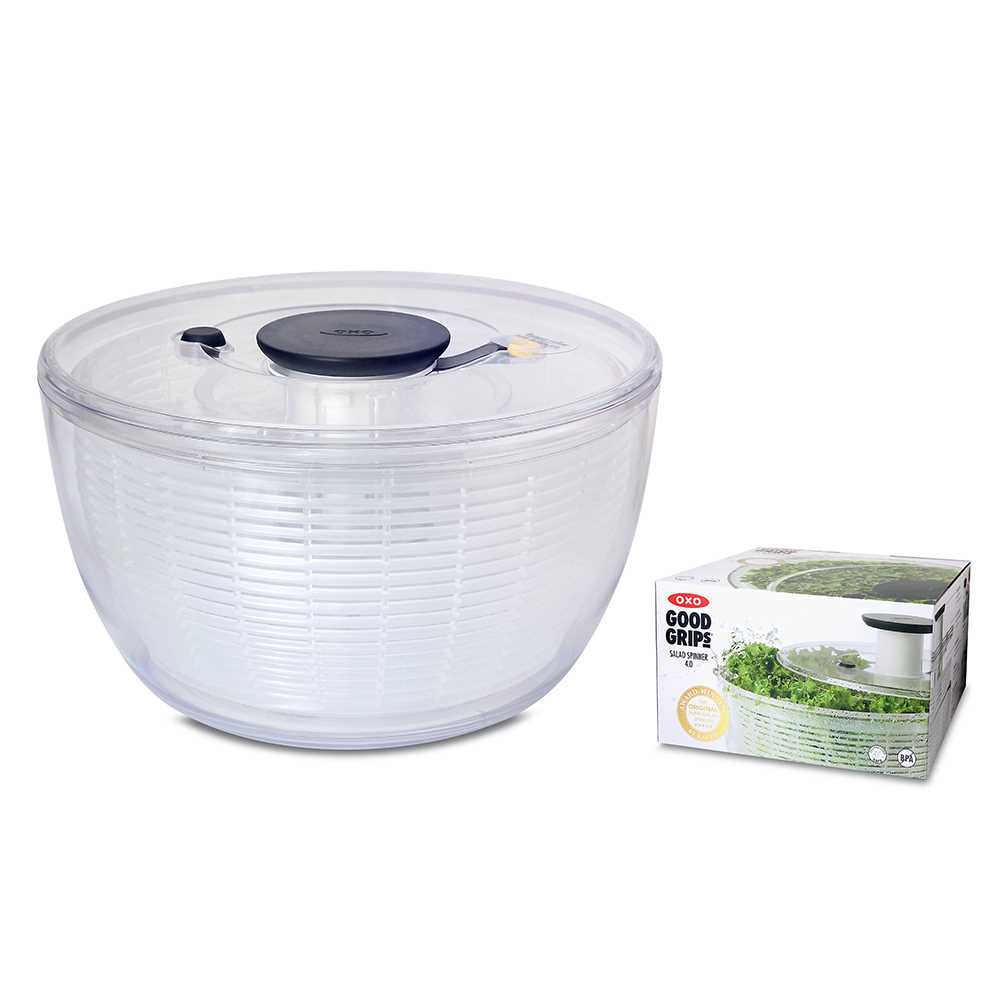 OXO Salad Spinner 4.0 Clear