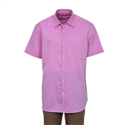 Premium Cotton Slim Fit Short Sleeve Shirt 1530364 18