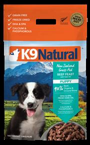 K9 Natural 冷凍脫水狗糧 - 幼犬